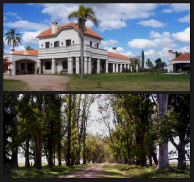 grand estate in Lavalleja Uruguay