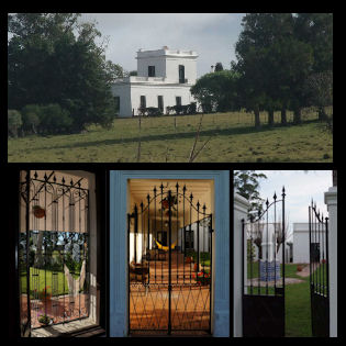 historic estancia uruguay iron gates