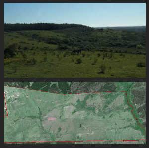 ranchland near coast uruguay