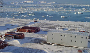 Basis Artigas Antarctica