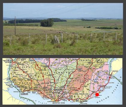 Uruguay coastal ranch